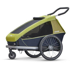 Croozer Kid for 2 - Remorque vélo - gris/vert
